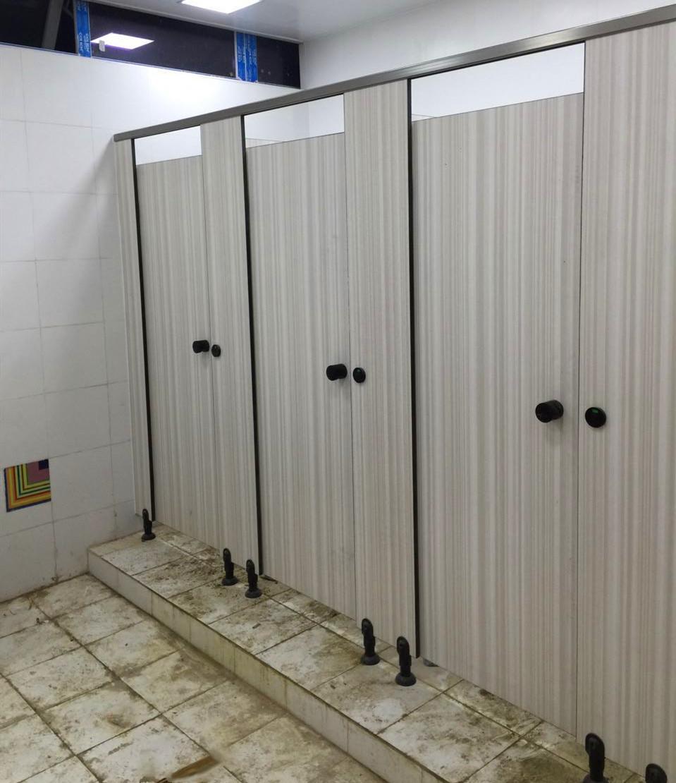 PVC板卫生间隔断