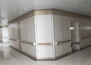 医院走廊挂墙板