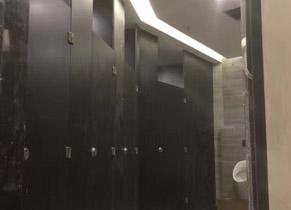 黑色抗倍特洗手间